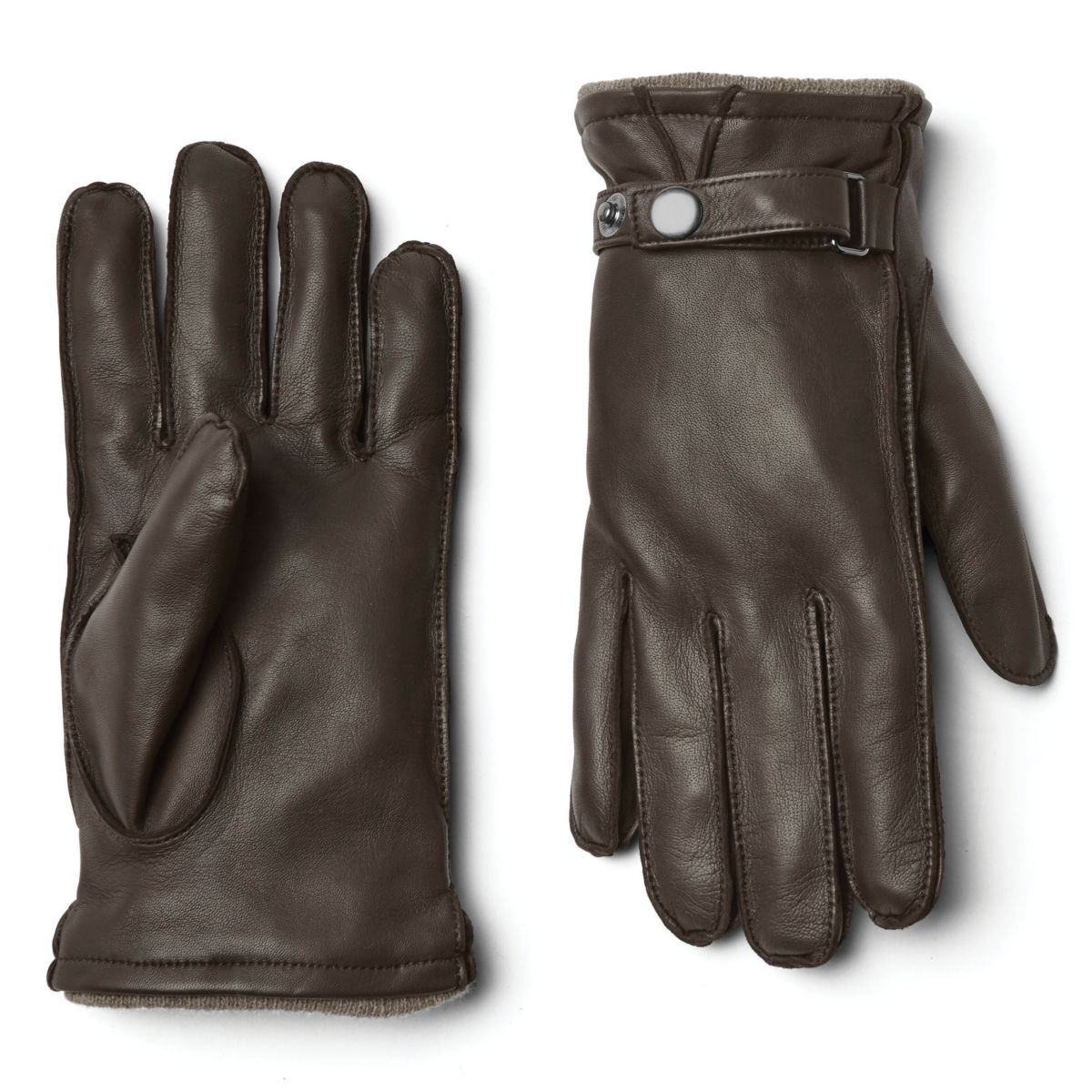 Coventry Cashmere-Lined Gloves - BROWNimage number 0