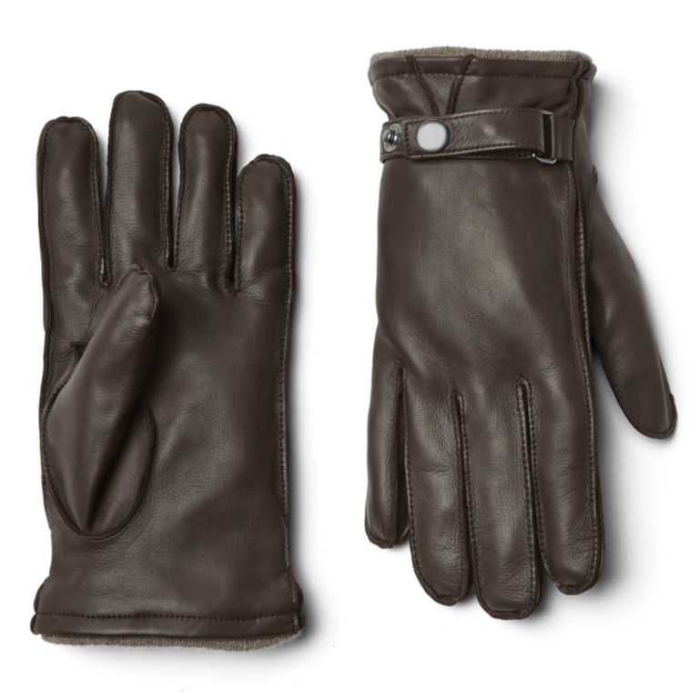 Coventry Cashmere-Lined Gloves - BROWN image number 0