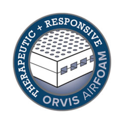 Orvis Airfoam logo