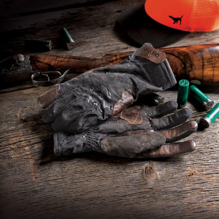 Orvis Waterproof Hunting Gloves - BLACK image number 2