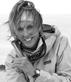 Black and white image of Lori-Ann Murphy