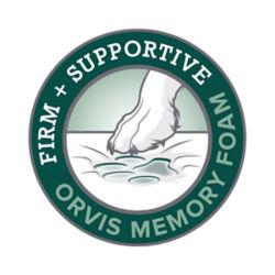 Orvis Memory Foam logo