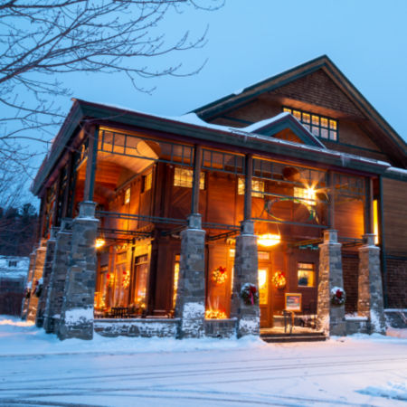 The Orvis store in Manchester, Vermont