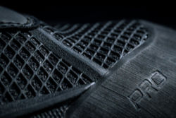 A close-up detail of the Pro wading boots upper