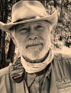 Sepia tone portrait of Paul Roos