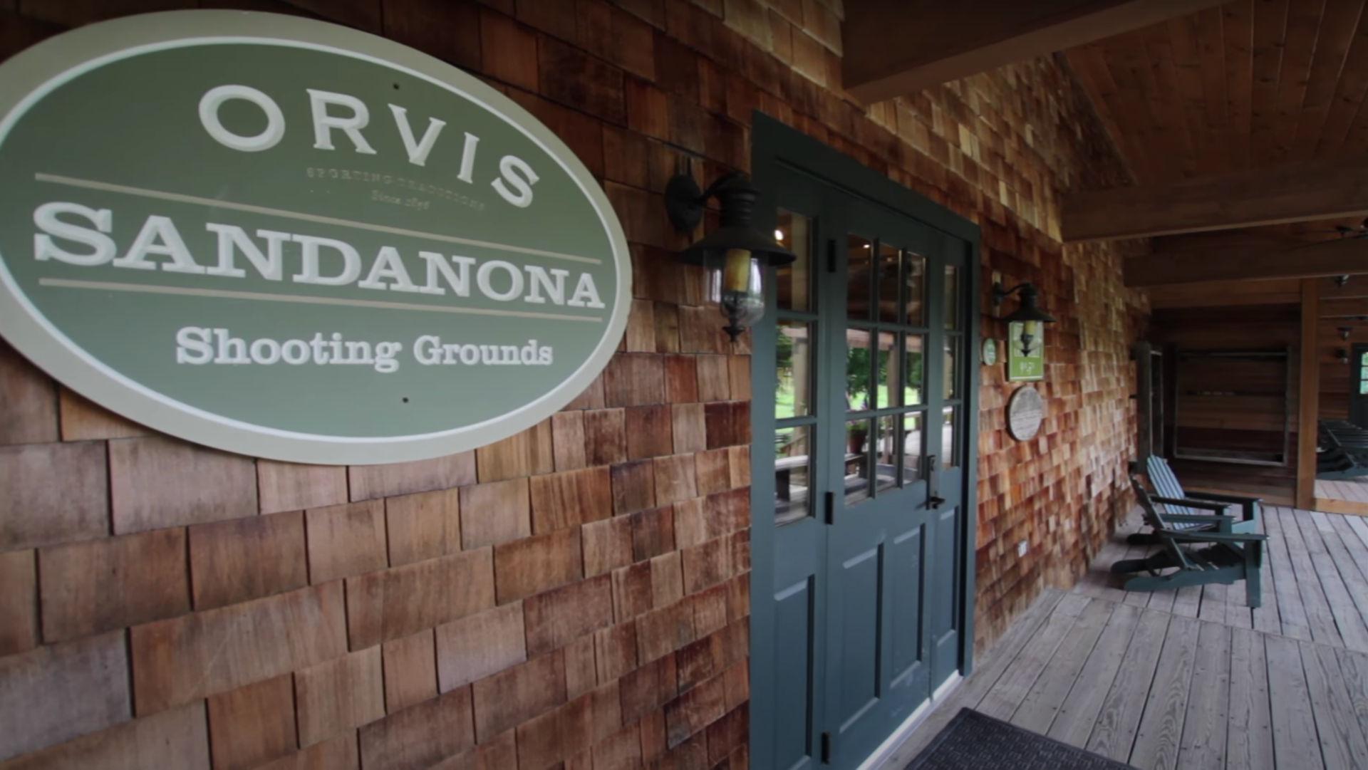 Sandanona Shooting Grounds front porch entrance